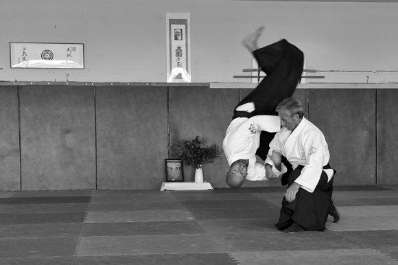 Kokyu Nage avec Daniel Toutain - octobre 2016 Ajaccio