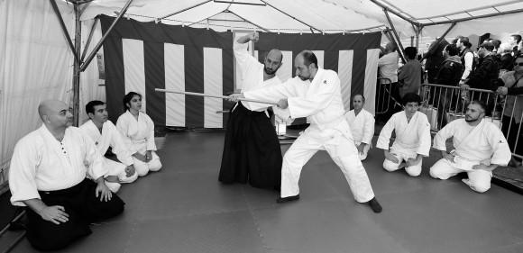 Journée du Japon à la médiathèque St Jean Aikido